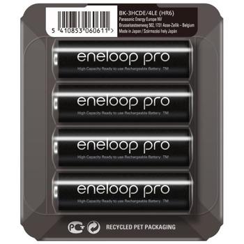 Батерии Panasonic Eneloop Pro, AA, 2450, 1.2V, Ni-MH, 4 бр. image