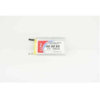 Литиева батерия LP405085, 3.7V, 1700mAh, Li-polymer, 1бр. image