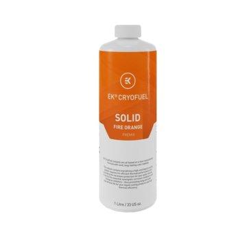 Течност за водно охлаждане Ekwb EK-CryoFuel Solid Fire Orange, 1000ml, оранжева image