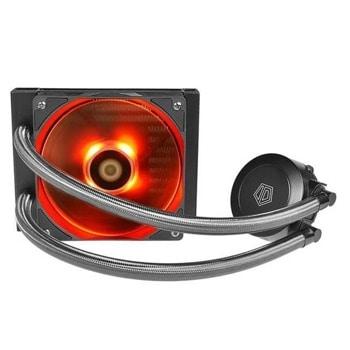 Водно охлаждане за процесор ID-Cooling Frostflow 120 Red LED, съвместимост със сокети LGA 775/1150/1151/1155/1156/1366/2011 & AMD AMD2/AM2+/AM3/AM3+/FM1/FM2/FM2+ image