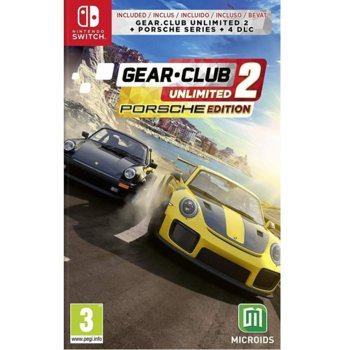 Игра за конзола Gear.Club Unlimited 2 Porsche Edition, за Nintendo Switch image