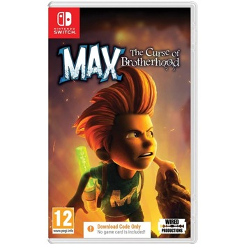 Max The Curse of Brotherhood Code in a Box Switch product
