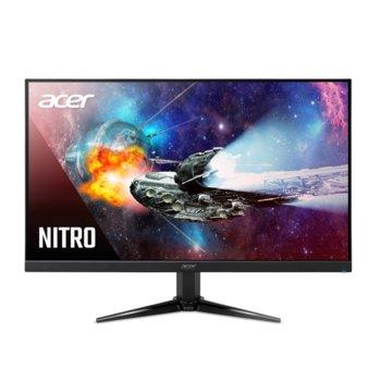 Монитор Acer Nitro QG241Ybii (UM.QQ1EE.001), VA панел, 1ms, 100 000 000:1, 250 cd/m2, HDMI, VGA image