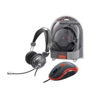 Слушалки Trust Gamer Pack GM-6200 + мишка image