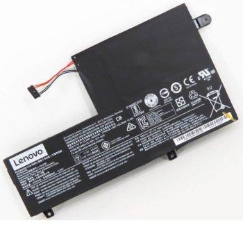 Батерия (оригинална) за лаптоп Lenovo, съвместима с модели YOGA 510 IDEAPAD FLEX 4, 3-cell 11.4V, 4600mAh image