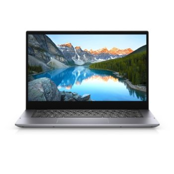"Лаптоп Dell Inspiron 14 5406 (5397184444436)(сив), четириядрен Tiger Lake Intel Core i5-1135G7 4.2 GHz, 14.0"" (35.56 cm) Full HD Touchscreen Glare Display, (HDMI), 8GB DDR4, 256GB SSD, 1x USB 3.2 Gen 2 Type-C, Windows 10 Home  image"