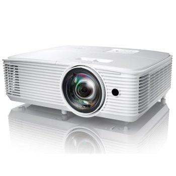 Проектор Optoma X308STe, DLP, XGA (1024x768), 22 000:1, 3500 lm, HDMI, VGA, USB image