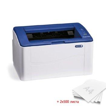 Xerox Phaser 3052NI + 2x 500 хартия product