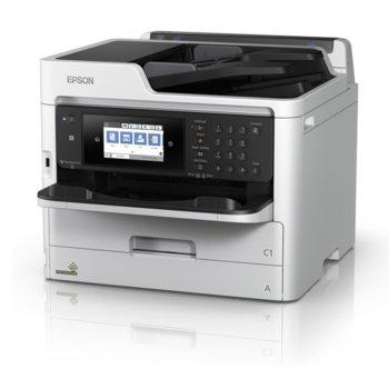 Мултифункционално мастиленоструйно устройство Epson WorkForce Pro WF-C5790DWF, цветен, принтер/копир/скенер/факс, 4800 x 1200 dpi, 34стр/мин, Wi-Fi, LAN, USB, ADF, двустранен печат, A4 image