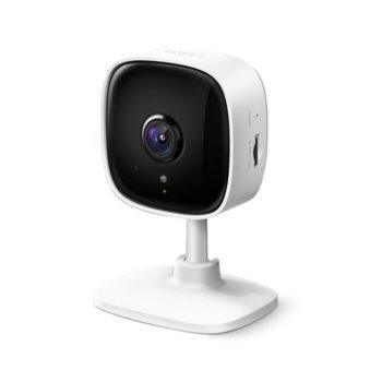 IP камера TP-Link Tapo C100, стационарна, 2MP (1920x1080@15fps), H.264, IR осветленост (до 10м), вътрешна, microSD слот image