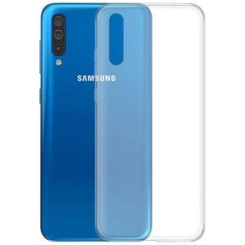 Калъф за Samsung Galaxy A50, силиконов, тънък, прозрачен image