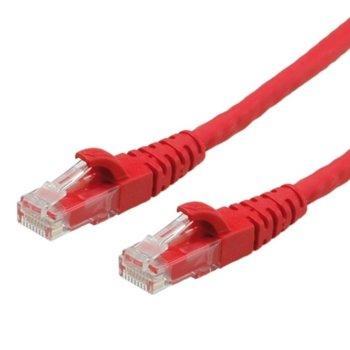 Пач кабел Roline 21.15.1030, UTP, Cat.6, 10м, червен image