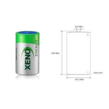 Литиево тионил хлоридна батерия Xeno, XL205, 3.6V, 19Ah, 1 брой image