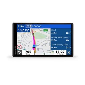 """Навигация за автомобил Garmin DriveSmart 55 MT-S EU, 5.5"""" (13.9cm) цветен HD дисплей, Wi-Fi, Bluetooth, карта на Европа image"""
