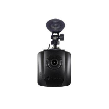"""Видеорегистратор Transcend DrivePro 110 в комплект с Transcend 32GB memory card & Suction Mount, камера за автомобил, Full HD, 2.4""""(6.09 cm) LCD дисплей, microSD слот до 128GB, microUSB, USB 2.0, Wi-Fi 802.11n image"""