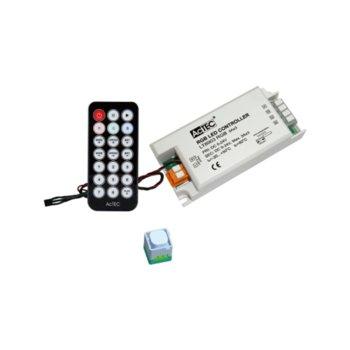 LED RGB контролер Actec LC-LT8903-RGB-IR, 5-24V DC, 216W, 9A, триканален image