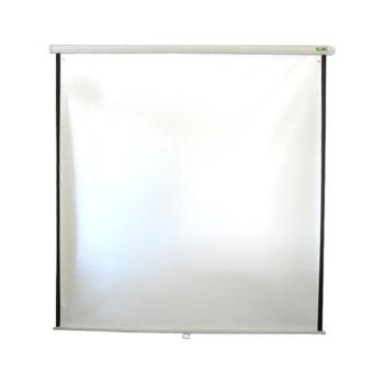 Екран за видео проектор 2 x 2m, окачване на стена product