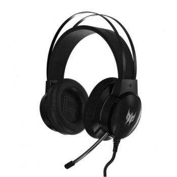Слушалки Acer Predator Galea 300, геймърски, микрофон, черни image