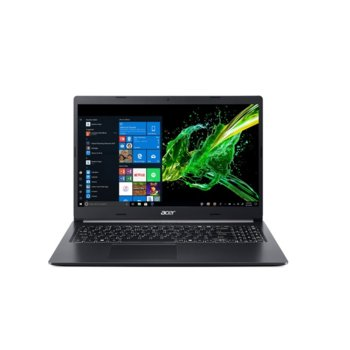 "Лаптоп Acer Aspire 5 A515-54G-734T (NX.HN5EX.00H), четириядрен Comet Lake Intel Core Intel Core i7-10510U 1.8/4.9 GHz, 15.6"" (39.62 cm) Full HD IPS Anti-Glare Display & GF MX250 2GB, (HDMI), 8GB DDR4, 1TB HDD, 1x USB-C, Linux image"