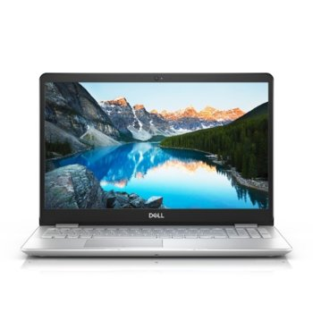 "Лаптоп Dell Inspiron 5584 (DI5584I38145U4G1TUMA_UBU-14)(сребрист), двуядрен Whiskey Lake Intel Core i3-8145U 2.1/3.9 GHz, 15.6"" (39.62 cm) Full HD Anti-Glare Display, (HDMI), 4GB DDR4, 1TB HDD, 1x USB 3.1 Type C, Linux image"