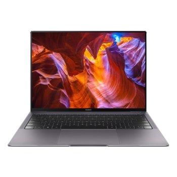 """Лаптоп Huawei MateBook X Pro (MachC-WAE9B)(Space Grey), четириядрен Comet Lake Intel Core i7-10510U 1.8/4.9 GHz, 13.9"""" (35.30 cm) 3K FullView тъч дисплей дисплей & NVIDIA GeForce MX250 2GB, 16GB DDR4, 1TB SSD, USB Type C, Windows 10 Pro, 1.3g image"""