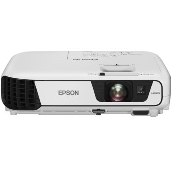 Проектор Epson EB-S41, 3LCD, SVGA (800 x 600), 15,000:1, 3300 lm, HDMI, USB Type A, USB Type B, VGA image