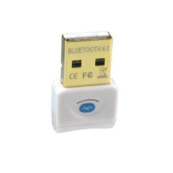 Адаптер, Bluetooth 4.0, до 3Mbps, обхват до 20м, бял image