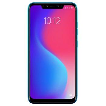 "Смартфон Lenovo S5 Pro (син), поддържа 2 sim карти, 6.2"" (15.74 cm) FHD+ IPS LCD дисплей, осемядрен Snapdragon 636 1.8 GHz, 6GB RAM, 64GB Flash памет (+ microSD слот), 12.0 MP + 20.0 MP & 20.0 MP + 8.0 MP, Android, 170 g image"