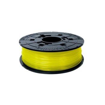 Консуматив за 3D принтер XYZprinting RFPLBXEU04A, PLA, 1.75 mm, жълт, 600 g image