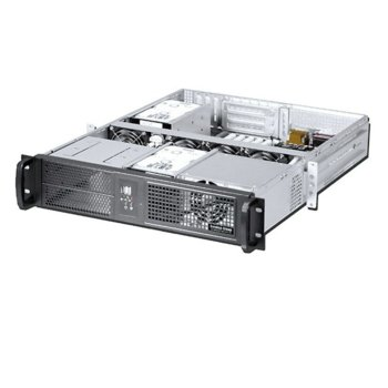 Кутия Genesys Group E266B, 2U rack-mount, без захранване image
