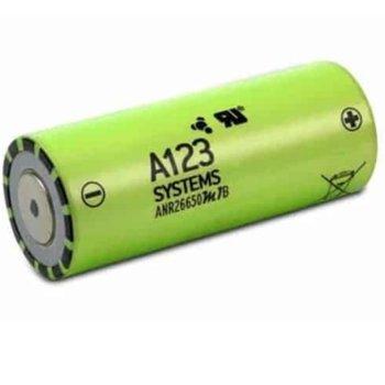 Акумулаторна батерия A123 Systems ANR26650M1B, 26650, 3.3V, 2500mAh, Li-FePO4, 1 брой image