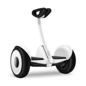 Електрически скутер Xiaomi Ninebot Мini, 700W, до 16км/ч, магнезиев корпус, до 85 кг., до 22km с едно зареждане, бял image