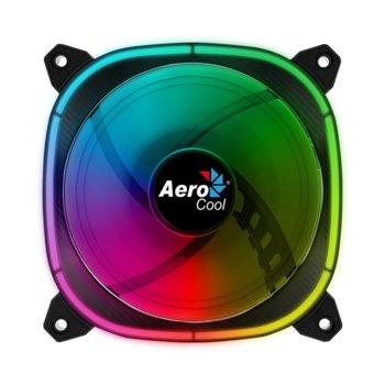 Вентилатор 120mm AeroCool Astro 12, 4-pin PWM / 6-pin RGB, 1000 rpm, RGB подсветка image