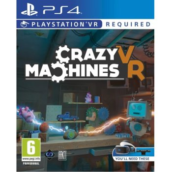 Crazy Machines PS4 VR product