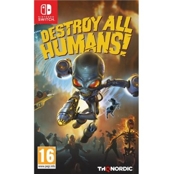 Игра за конзола Destroy All Humans!, за Nintendo Switch image