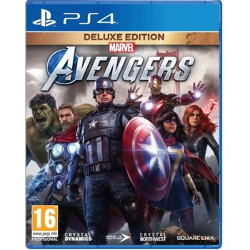 Marvels Avengers Deluxe PS4 product