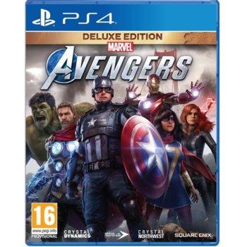 Игра за конзола Marvel's Avengers - Deluxe Edition, за PS4 image