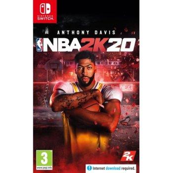Игра за конзола NBA 2K20, за Nintendo Switch image