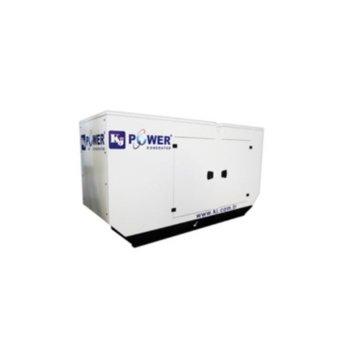 Дизелов генератор KJ POWER KJA 110, двигател ALPHA-R, 110kVA/88kW, 247л резервоар, водно охлаждане, IP23 защита, с кожух image
