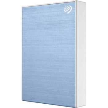 """Твърд диск 4TB, Seagate Backup Plus Portable STHP4000402 (син), външен, 2.5"""" (6.38 cm), USB 3.0 image"""