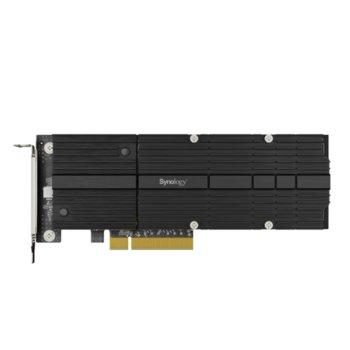 Контролер Synology M2D20, от PCIe 3.0 x8 към 2x M.2 NVMe 2280/22110 image