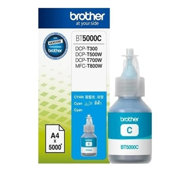 МАСТИЛО BROTHER DCP-T300/DCP-T500W/DCP-T700W/MFC-T800W - Cyan - BT5000C - Заб.:5000p. image