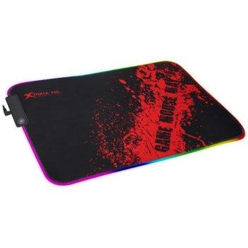 Подложка за мишка Xtrike ME MP-602 , гейминг, RGB, 350 x 250 x 3 mm image