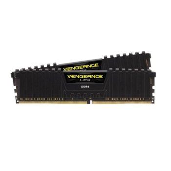 Памет 16GB (2x8GB) DDR4 3600MHz, Corsair Vengeance LPX CMK16GX4M2D3600C18, 1.35V image