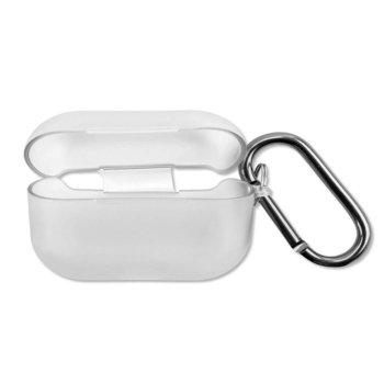 Калъф за слушалки 4Smarts Soft Cover Invisible Slim 4S467816, за Apple AirPods Pro, силиконов, прозрачен image