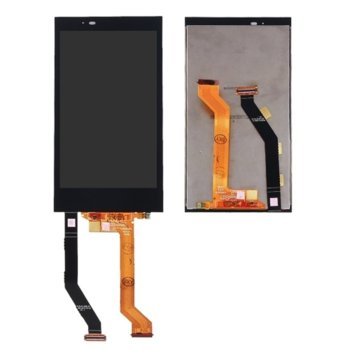 Дисплей за HTC One E9 plus LCD Original, с тъч, черен image