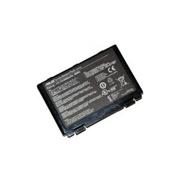 Батерия (оригинална) за лаптоп Asus, съвместима със серия F52 F82 K40 K50 K51 K60 K70 X5 X70 X8 A32-F52 A32-F82, 6 cell, 11.1V, 4400mAh image