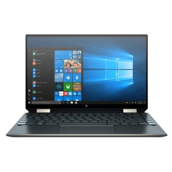 "Лаптоп HP Spectre x360 13-aw2000nu (386D6EA)(син), четириядрен Tiger Lake Intel Core i7-1165G7 2.8/4.7 GHz, 13.3"" (33.78 cm) Full HD Touchscreen Anti-Glare Display, (HDMI), 16GB DDR4, 512GB SSD, 2x USB 3.1 Type-C, Windows 10 Home image"