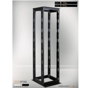 MIRSAN MR.OPR36UDF66.01 OPEN RACK DOUBLE FRAME product