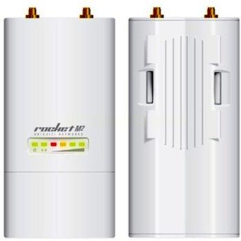 Точка за достъп Ubiquiti Rocket M2, 2.4GHz(150Mbps), 1 x 10/100 Ethernet Port image